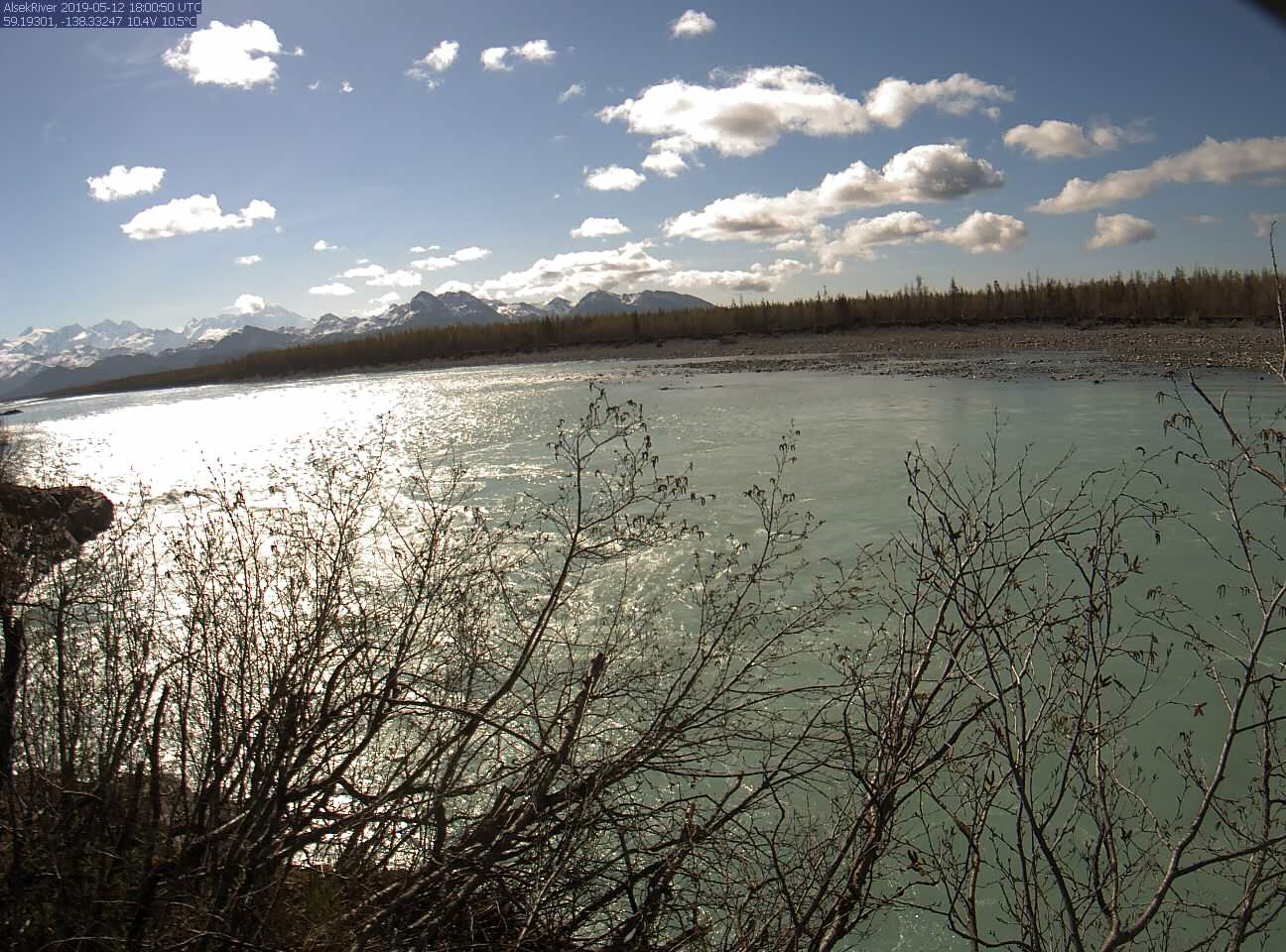 USGS Current Conditions for USGS 15129120 ALSEK R AT DRY BAY NR