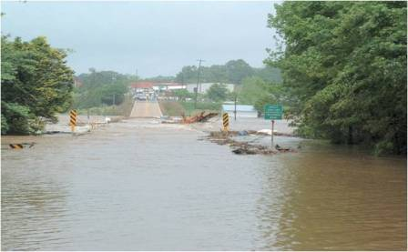 Flood of May 2003 on the Tallapoosa River