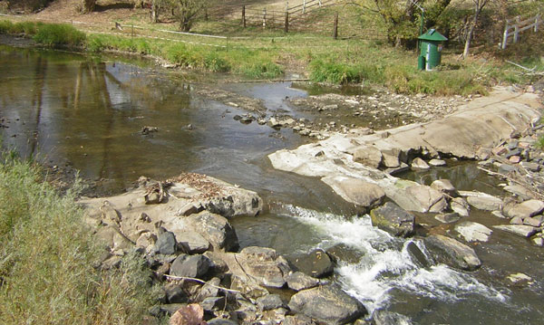 USGS Current Conditions for USGS 06730200 BOULDER CREEK AT