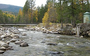 Boundary Creek near Porthill, ID - USGS file photo