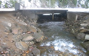 Canyon Creek above mouth at Wallace, ID - USGS file photo