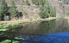 SF Coeur d'Alene River near Pinehurst, ID - USGS file photo
