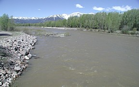 Gros Ventre River at Zenith, WY - USGS file photo