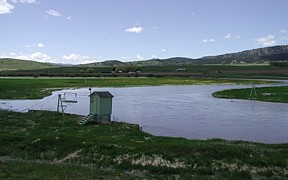 Salt River above Reservoir near Etna, WY - USGS file photo