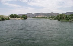 Snake River near Heise, ID - USGS file photo