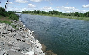 Snake River at Lorenzo, ID - USGS file photo
