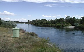 Snake River near Menan, ID - USGS file photo