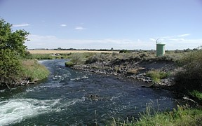 Great Western Spillback near Idaho Falls, ID - USGS file photo
