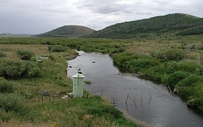Blackfoot River above Reservoir near Henry, ID - USGS file photo