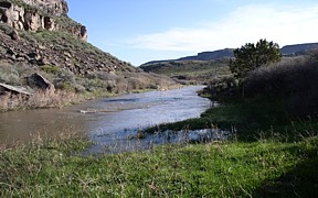 Goose Creek above Trapper Creek near Oakley, ID - USGS file photo