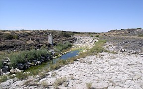 Snake River Gaging Station at Milner, ID -Dry - USGS file photo