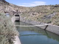 Salmon River Canal Co Canal nr Rogerson, ID - USGS file photo