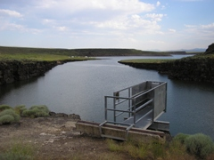 Salmon River Canal Co Reservoir nr Rogerson, ID - USGS file photo