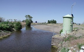 Camas Creek at Camas, ID - USGS file photo