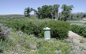 Medicine Lodge Creek near Small, ID - USGS file photo