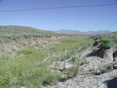 INL Diversion at outlet of Spreading Area A near Arco, ID - USGS file photo