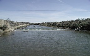 Big Lost River below INL Diversion near Arco, ID - USGS file photo