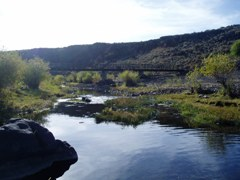 Camas Creek near Blaine, ID - USGS file photo