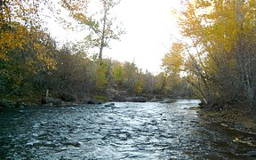 Little Wood River above High Five Creek near Carey, ID - USGS file photo