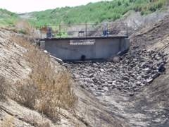 McCalley Dam outflow at Mountain Home AFB, ID - USGS file photo