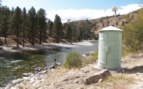 Boise River near Twin Springs, ID - USGS file photo