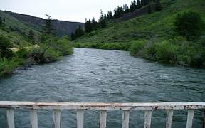 SF Boise River below Anderson Ranch Dam, ID - USGS file photo