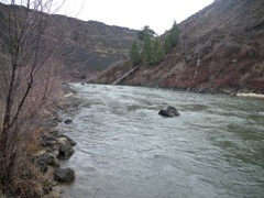 SF Boise River at Neal Bridge nr Arrowrock Dam, ID upstream - USGS file photo