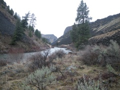 SF Boise River at Neal Bridge nr Arrowrock Dam, ID downstream - USGS file photo