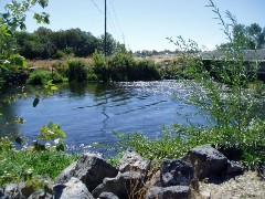 Boise River South Channel near Eagle, ID - USGS file photo