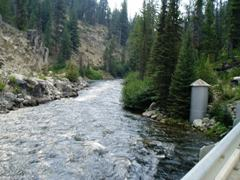 Deadwood River below Deadwood Reservoir near Lowman, ID - USGS file photo