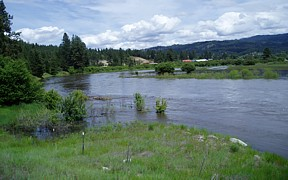 MF Payette River near Crouch, ID - USGS file photo