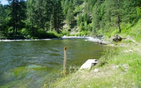 NF Payette River near Banks, ID - USGS file photo