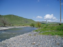 Crane Creek near Weiser, ID - USGS file photo downstream