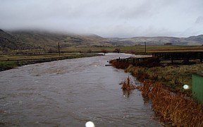 Crane Creek near Weiser, ID - USGS photo high water