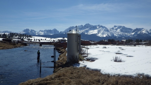 Valley Creek at Stanley, ID - USGS file photo