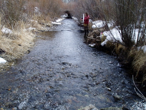 Thompson Creek near Clayton, ID - USGS file photo