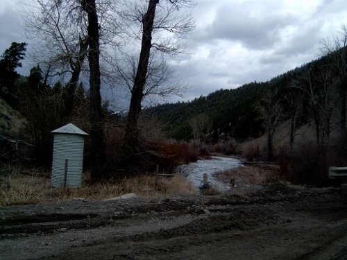 Squaw Creek below Bruno Creek near Clayton, ID - USGS file photo