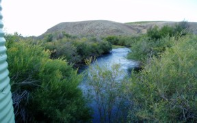 Pahsimeroi River at Ellis, ID - USGS file photo