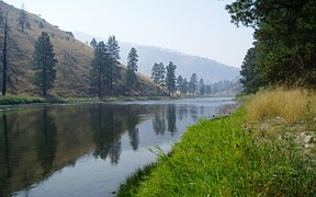 Salmon River near Shoup, ID - USGS file photo