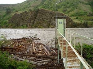 Salmon River at White Bird, ID May 21 2008; 93,300 CFS - USGS file photo