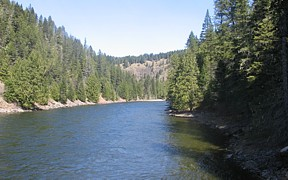 Lochsa River near Lowell, ID - USGS file photo