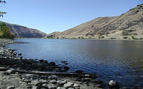 Clearwater River at Spalding, ID - USGS file photo