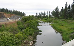 Palouse River near Potlatch, ID - USGS file photo