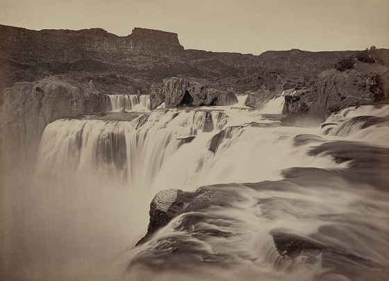 Shoshone Falls 1874 image
