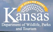 Logo for Kansas Department of Wildlife, Parks, and Tourism