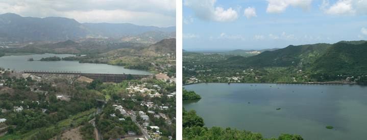 Image of Lago Guayabal at Damsite near Juana Diaz
