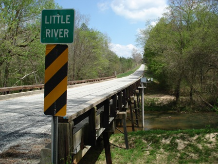 Little River near Mt.Carmel, SC - USGS file photo